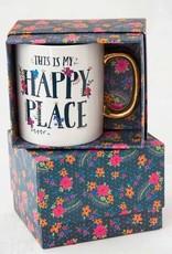 NATURAL LIFE HAPPY PLACE BOXED MUG