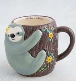 NATURAL LIFE SLOTH FOLK MUG