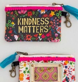 NATURAL LIFE KINDNESS MATTERS ID POUCH