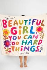 NATURAL LIFE BEAUTIFUL GIRL BLANKET
