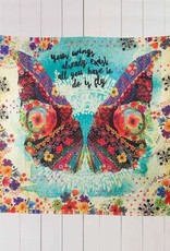 NATURAL LIFE YOUR WINGS TAPESTRY
