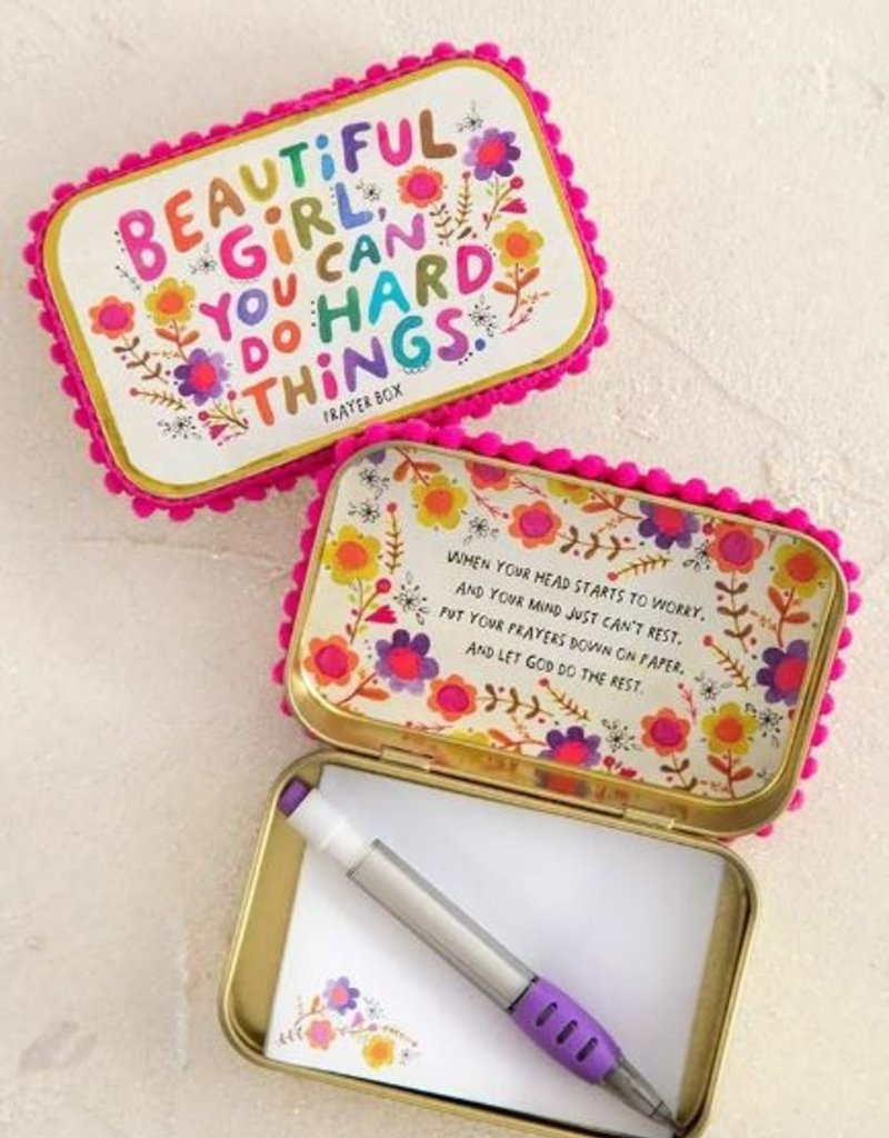 NATURAL LIFE PRAYER BOX BEAUTIFUL GIRL