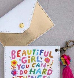 NATURAL LIFE CARD HOLDER BEAUTIFUL GIRL