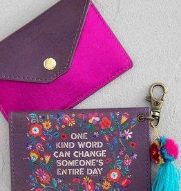 NATURAL LIFE CARD HOLDER KIND WORD