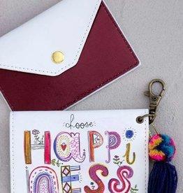 NATURAL LIFE CARD HOLDER CHOOSE HAPPY