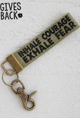 NATURAL LIFE  INHALE EXHALE KEY FOB