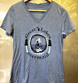 COASTAL SANDS WOMEN'S GREAT LAKES MERMAID TEE 2019