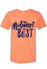 MIDWEST SUPPLY CO UNISEX MIDWEST IS BEST TEE