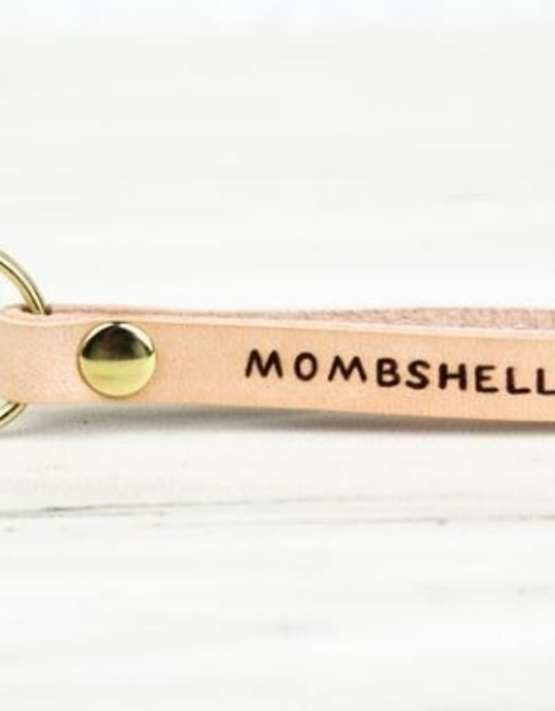 FRESH WATER DESIGN CO KEY CHAIN MOMSHELL