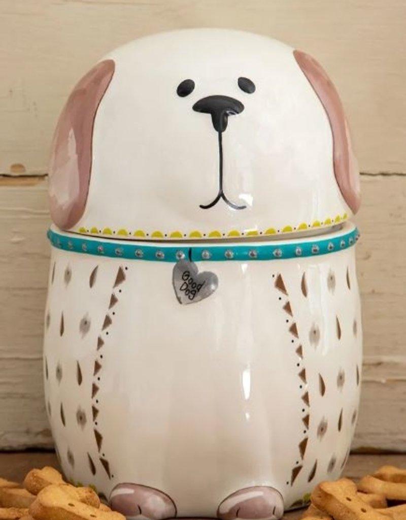 NATURAL LIFE GOOD DOG TREAT JAR
