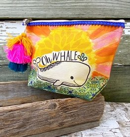 CANVAS POUCH OH WHALE BAG