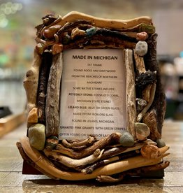 DRIFTWOOD & MICHIGAN STONE FRAME- 3