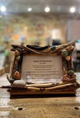 DRIFTWOOD & MICHIGAN STONE FRAME- 2
