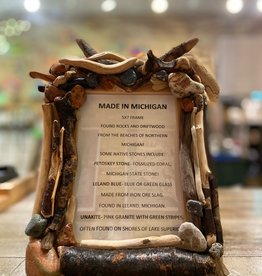 DRIFTWOOD & MICHIGAN STONE FRAME- 4