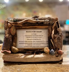 DRIFTWOOD & MICHIGAN STONE FRAME- 5
