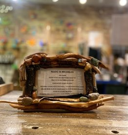 DRIFTWOOD & MICHIGAN STONE FRAME- 6
