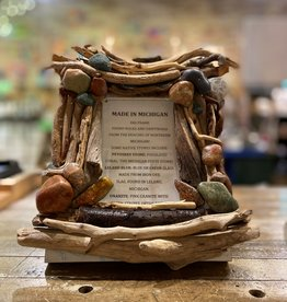 DRIFTWOOD & MICHIGAN STONE FRAME- 10