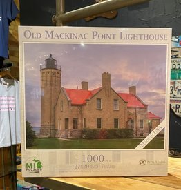 OLD MACKINAC POINT LIGHTHOUSE PUZZLE