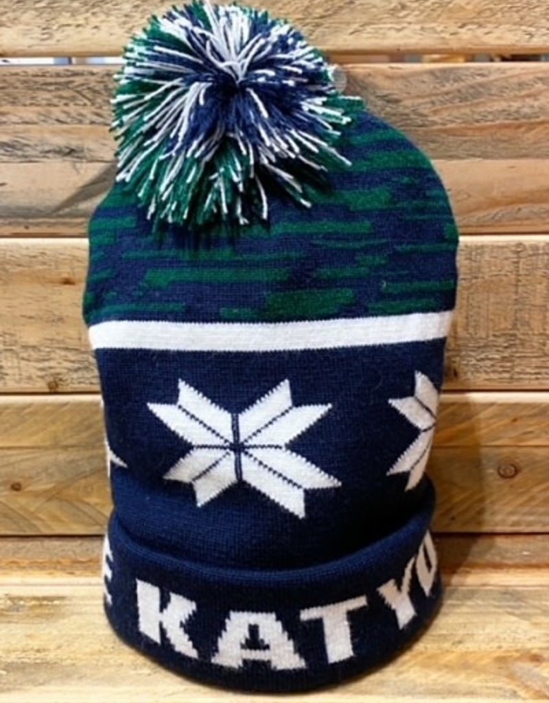 PERSONAL GRAPHICS THE KATYDID KNITTED BEANIE
