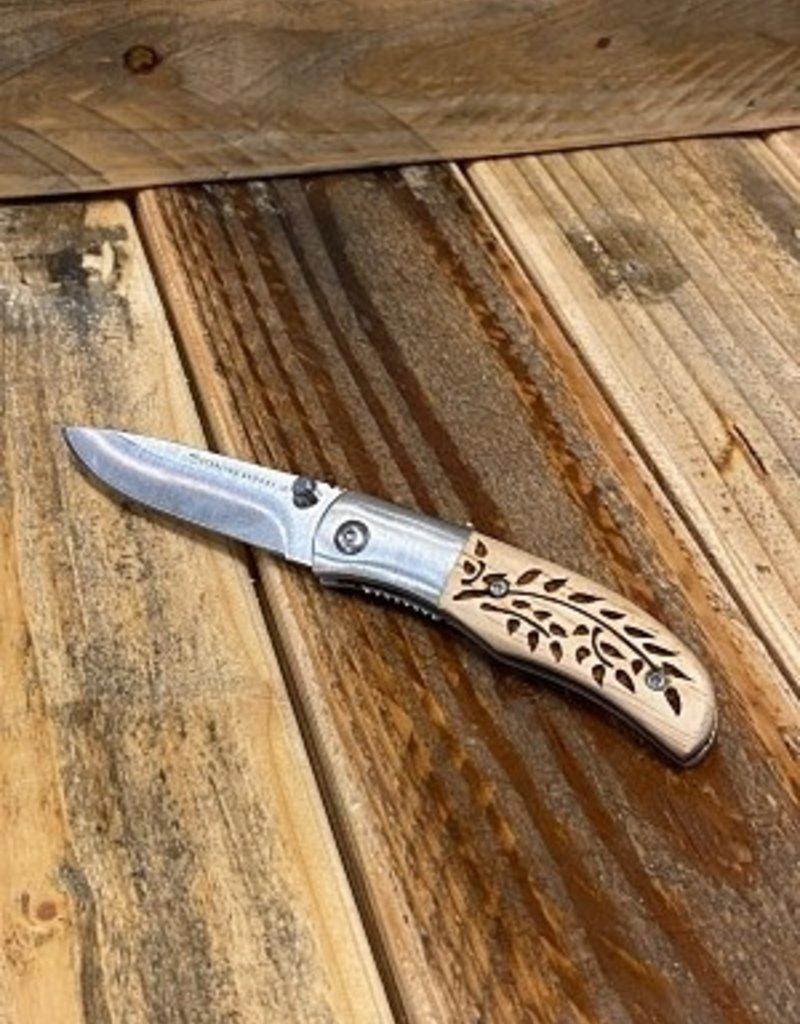CLASSIC POCKET KNIFE- VINES