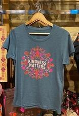 NATURAL LIFE KINDNESS MATTERS BLUE TSHIRT
