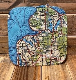 PETOSKEY MAP HOT PAD