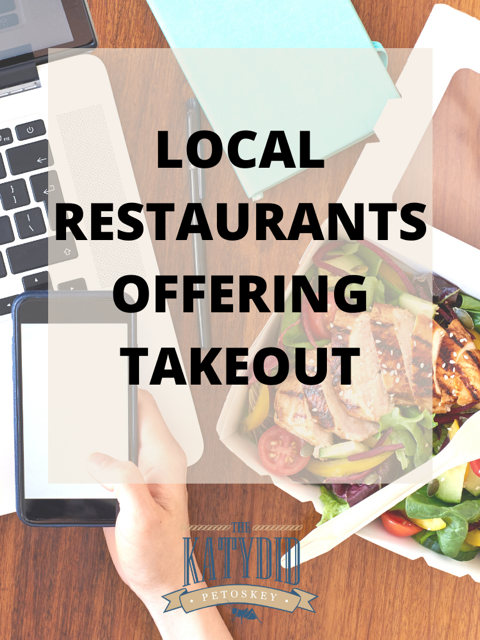 Local Restaurants Offering Takeout