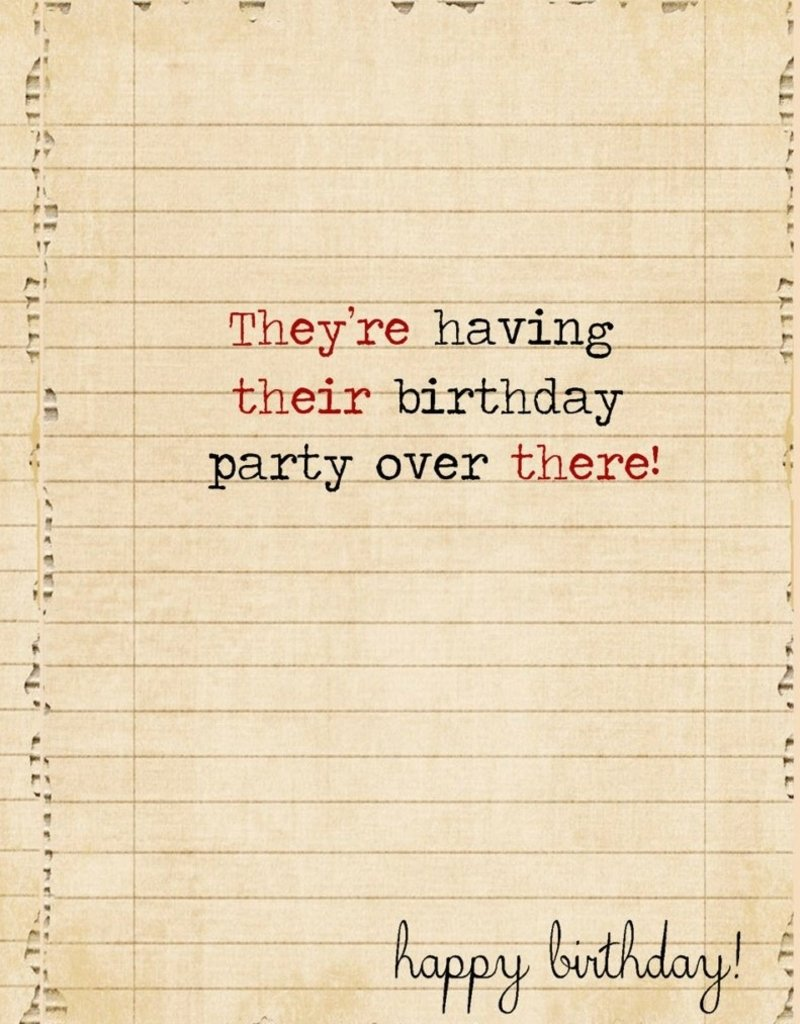 VINTAGE GRAMMAR BIRTHDAY CARDS