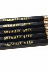 GRAMMAR GEEK PENCILS SET OF 5