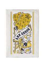 ANN ARBOR FLOUR SACK TOWEL