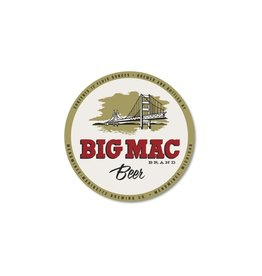 BIG MAC STICKER