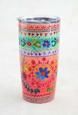 PEACH/MINT STAINLESS STEEL TUMBLER
