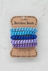 BARCELONA BANDS- PARACORD BLUE