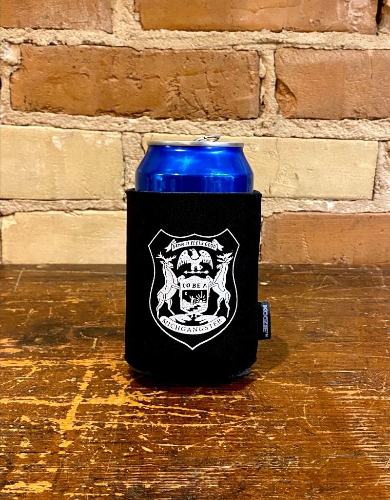 MIDWEST SUPPLY CO MICHIGANSTER CAN KOOZIE
