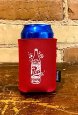 MIDWEST SUPPLY CO POP NOT SODA CAN KOOZIE