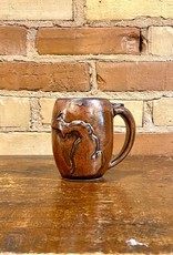 MICHIGAN OUTLINE MUG-COPPER
