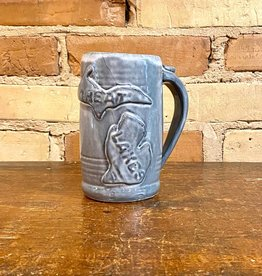 GREAT LAKES BEER STEIN-WHITE