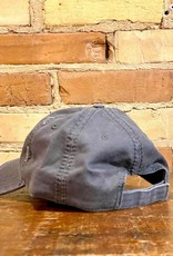 FLANNEL PANEL CHARCOAL BALL CAP