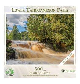 LOWER TAHQUAMENON FALLS 500 PIECE PUZZLE