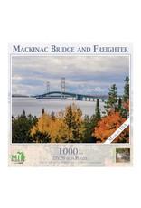 MACKINAC BRIDGE WITH FREIGHTER 1000 PIECE PUZZLE