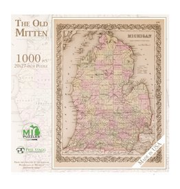 THE OLD MITTEN 1000 PIECE PUZZLE