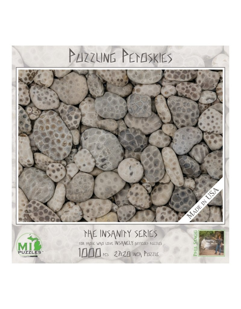 PUZZLING PETOSKIES 1000 PIECE PUZZLE