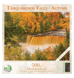 TAHQUAMENON FALLS IN AUTUMN 500 PIECE PUZZLE