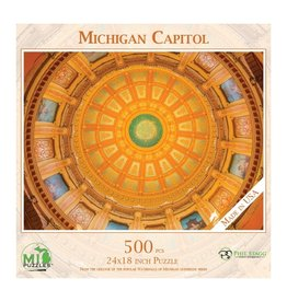 MICHIGAN CAPITOL 500 PIECE PUZZLE