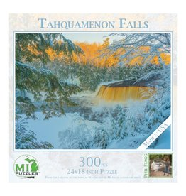 TAHQUAMENON FALLS WINTER  300 PIECE PUZZLE