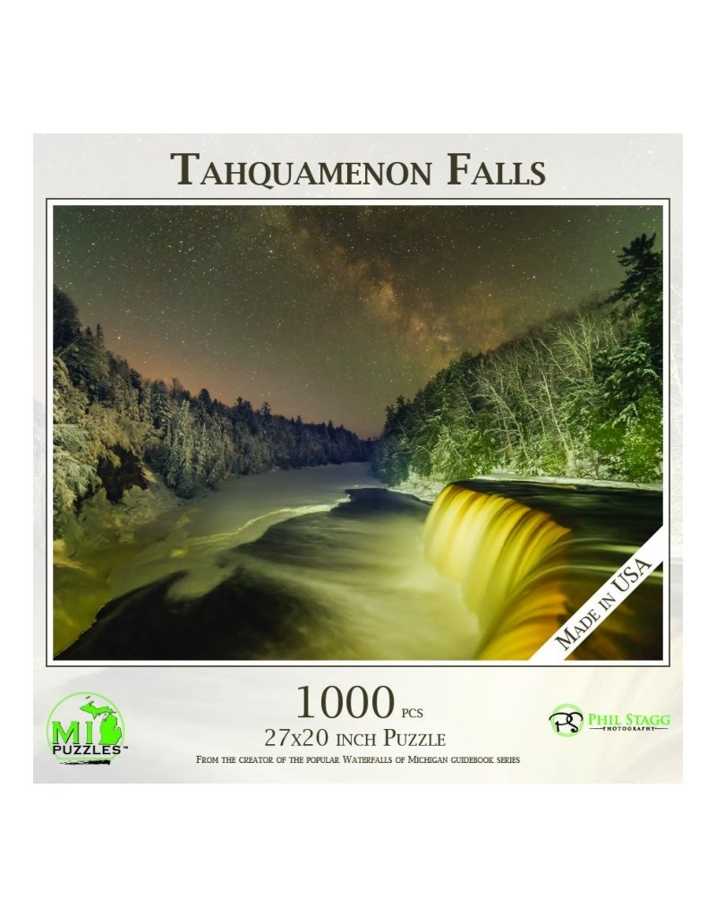 TAHQUAMENON FALLS MILKY WAY 1000 PIECE PUZZLE
