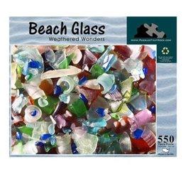 BEACH GLASS WEATHERED WONDERS  550 PIECE PUZZLE
