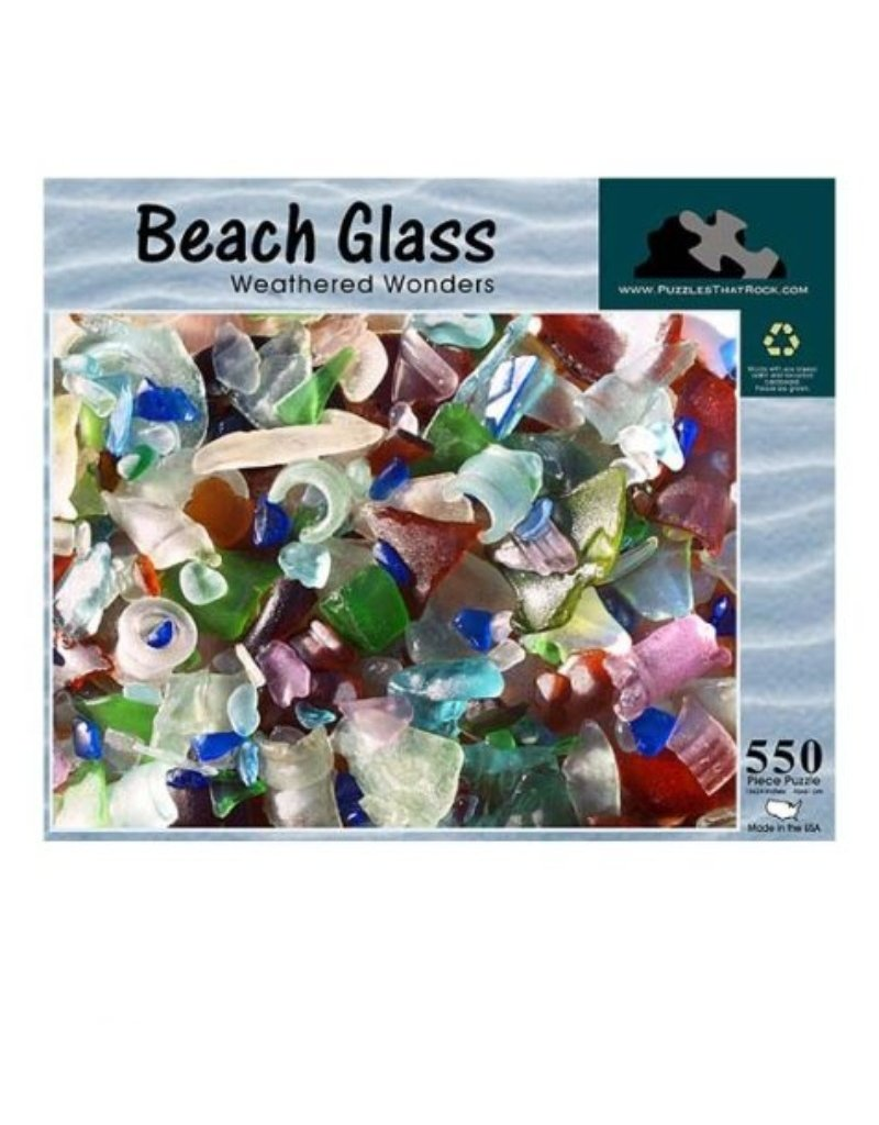 BEACH GLASS WEATHERED WONDERS 500 PIECE PUZZLE