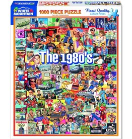 THE 1980'S 1000 PIECE PUZZLE