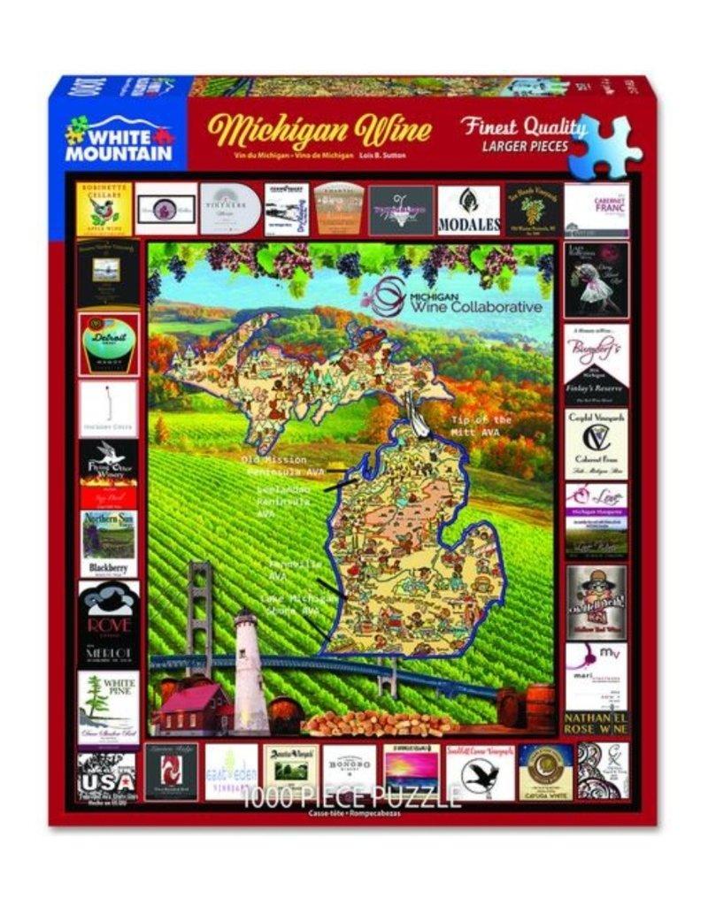 MICHIGAN WINE 1000 PIECE PUZZLE